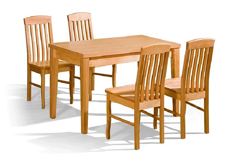 6d157150af33 Kuchynský stôl Deo + 4 stoličky DAK-8